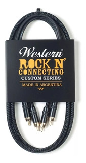 Western Cable Rock N Connecting Rca-rca Mallado 1.5m