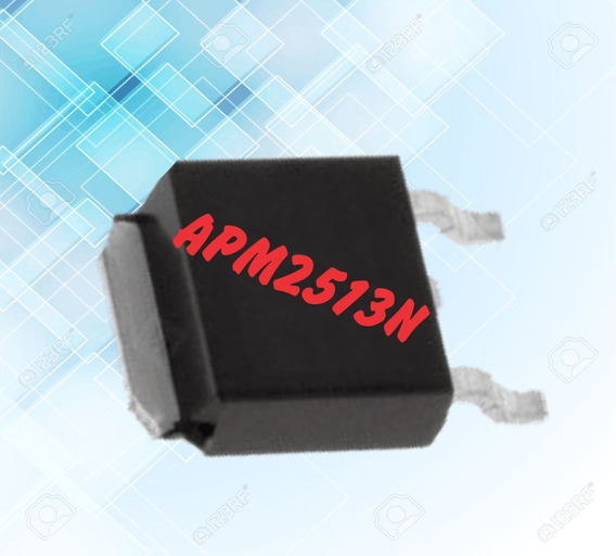 Transistor Mosfet Smd Apm2513n (3 Unidades)