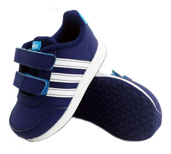 Zapatillas adidas Vs Switch Azul Urbana Niños 35702 Eezap