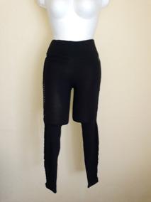 Leggings Con Detalle Retorcido S/ch Negro Victoria`s Secret