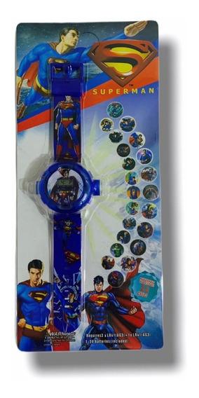 Relógio Infantil Super Man Projetor - Promoção