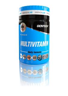 Multivitamin 60 Tab Gentech B12 B5 B6 B1 D3 H K Sin Tacc