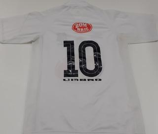 Camisa Santos Escudo Campeão Brasileiro 2002 Umbro 2003 - Kp