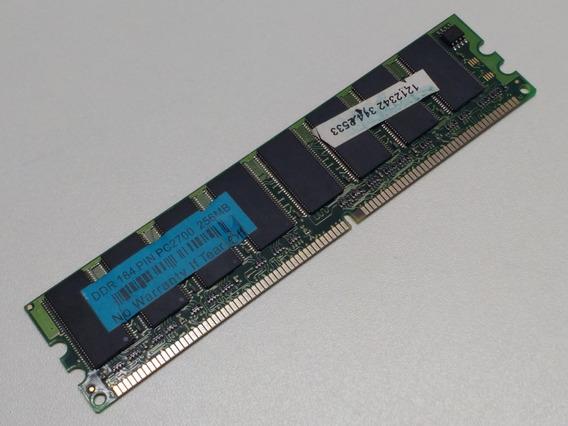 Memória Ddr 184 Pin Pc2700 256mb *usado*