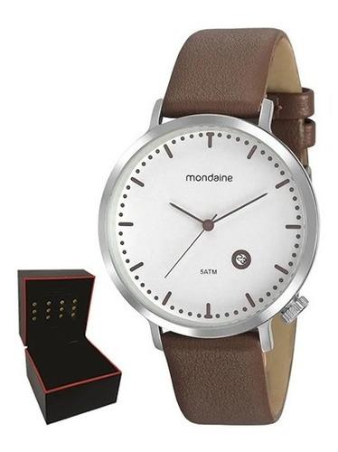 Relógio Mondaine Masculino Original Garantia Nf 99385g0mvnh2