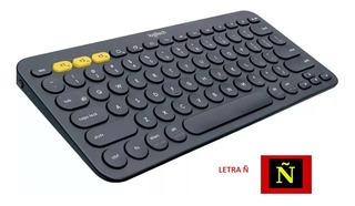 Teclado Bluetooth Multi-dispositivos Logitech K380 Negro