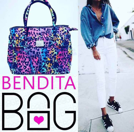 Cartera Bendita Bag L Print Multicolor Stock