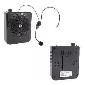 Kit Professor Megaphone Speaker - Multi-function - Rádio Fm