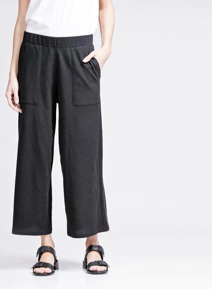 Pantalon Etiqueta Negra Flamé Doble Negro Piel