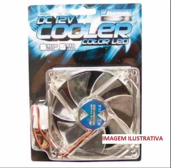Cooler Fortrek Para Luminoso Vermelho Cooler 12v P/ Pc