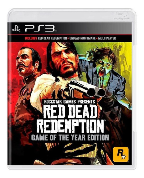 Red Dead Redemption Goty Ps3 Mídia Física Pronta Entrega