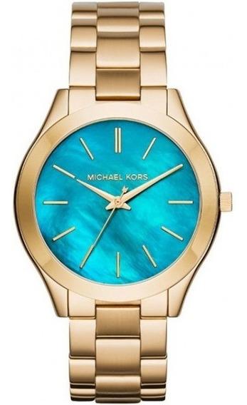 Relógio Michael Kors Feminino Slim Runway Mk3492/4vn