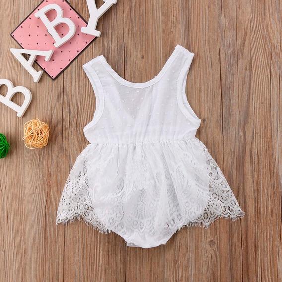 Body Regata De Renda Para Bebê