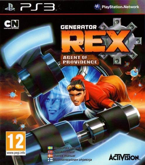 Jogo Generator Rex Agent Of Providence Ps3 Novo Lacrado