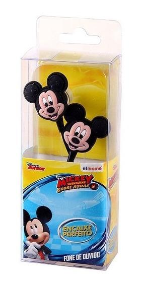 Fone De Ouvido Rosto Do Mickey Mouse Disney