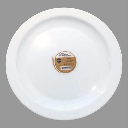 Plato Para Postre Gourmet Nadir 19,5 Cm 1 Pz
