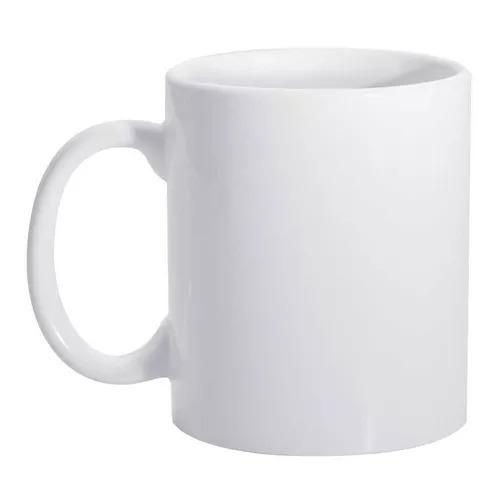 4 Canecas Branca Aaa De Ceramica Importada Para Sublimação