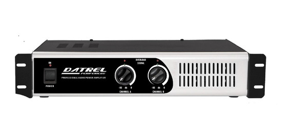 Amplificador De Potencia Profissional Pa3000 - 400w Rms