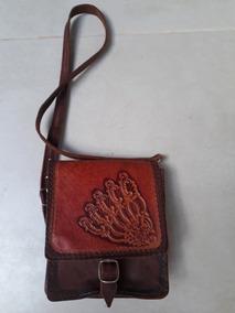 Bolsa Tiracolo Couro Vintage