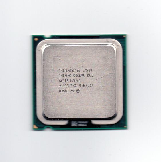 Processador Intel Core 2 Duo E7500 2.93ghz 3mb Cache Lga 775