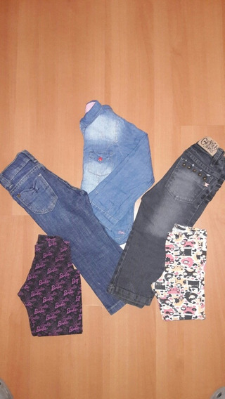 Lote Jeans, Camisa Y Calzas Grisino Cheeky