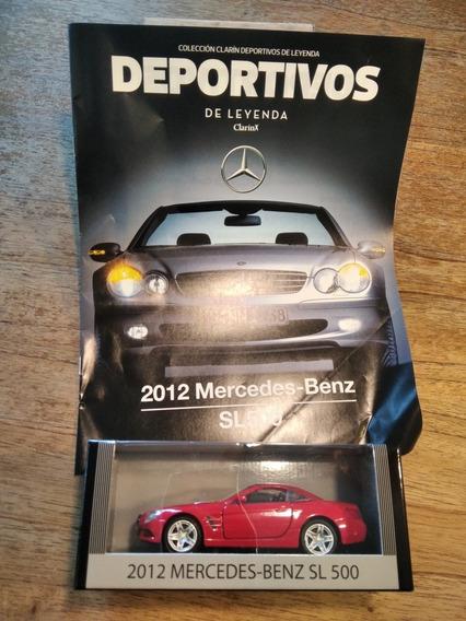 Auto De Colección Deportivos De Leyenda 2012 Mercedes Sl 500