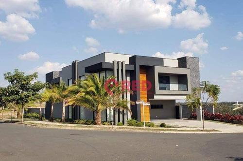 Casa Com 4 Dormitórios À Venda, 700 M² Por R$ 5.200.000,00 - Condomínio Saint Patrick - Sorocaba/sp - Ca0362