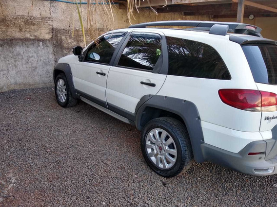 Fiat Weekend Adventure 1.8 Flex 2015 - Branco