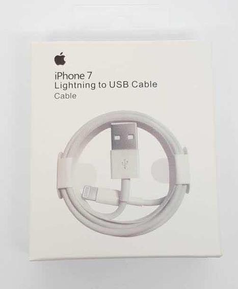 Paquete Cable iPhone 7 (10 Piezas)