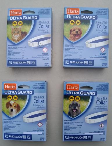 Imagen 1 de 8 de Paquete Con 10 Collares Antipulgas Para Perro Y Gato Hartz