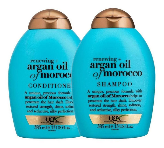 Shampoo E Condicionador Ogx Argan Oil Of Morocco 385ml