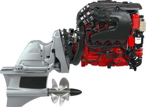 Motor Volvo Penta 4.3 V6 280hp + Rabeta Fwd P/ Barco Lancha