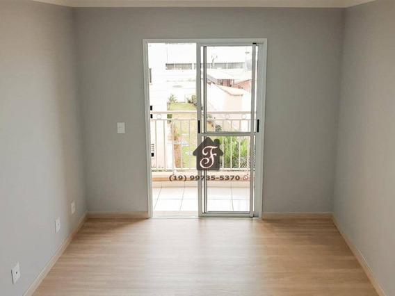 Apartamento Com 2 Dormitórios À Venda, 52 M² Por R$ 285.000,00 - Bonfim - Campinas/sp - Ap1628