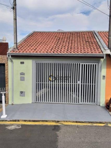 Casa Com 3 Dormitórios À Venda, 154 M² Por R$ 330.000 - Vila Cardoso - Capivari/sp - Ca1005