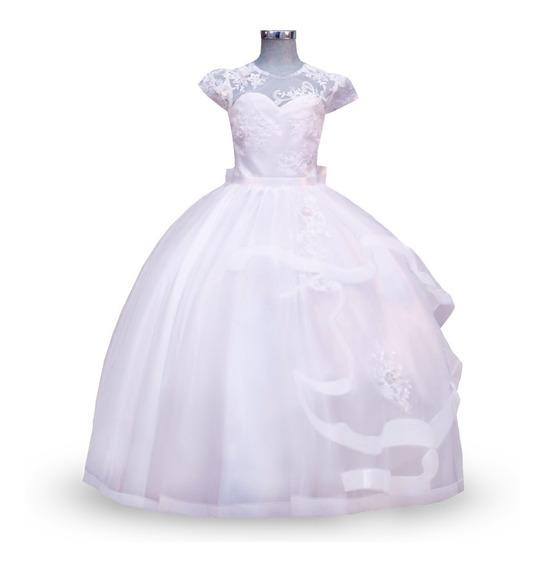 Vestido De Primera Comunión Modelo 772.