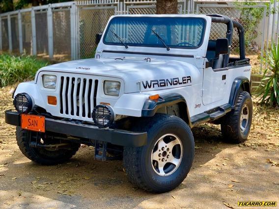 Jeep Wrangler Descapotado