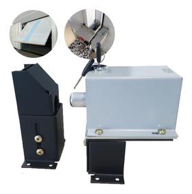 Trava Portao Automatico Basculante Gate Lock Com Suporte Rcg