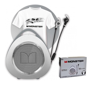 Kit Monster Dybala Original Auricular + Parlante + Remera