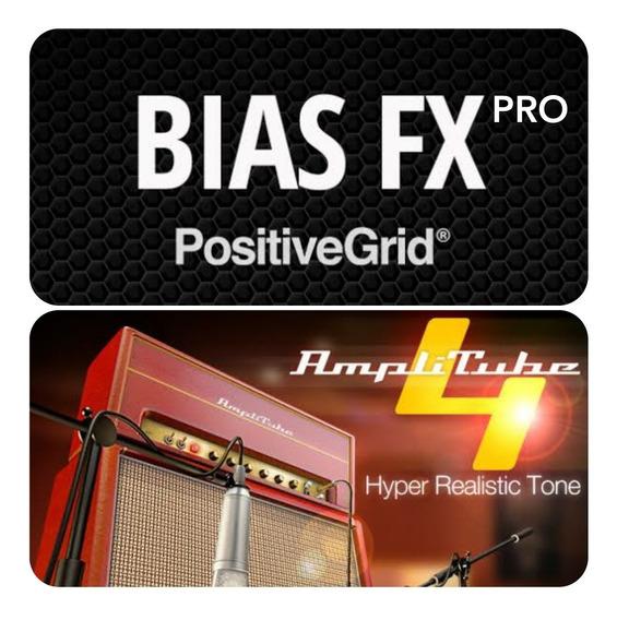 Bias Fx Pro + Amplitube 4.9 - Mac ( Vst, Au, Aax)