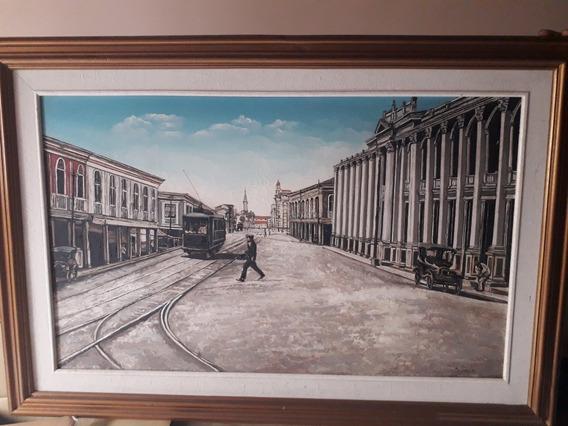Cuadro Guayaquil Antiguo 10/10 Por Motivos De Viaje