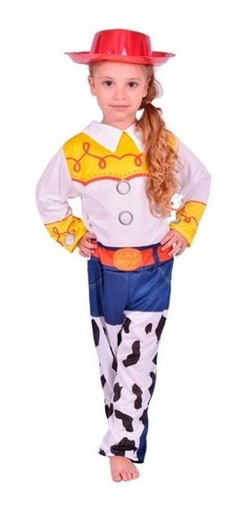 Disfraz Vaquerita Jessie Toy Story Original Talle 0-1-2