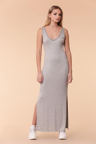 Vestido Mujer Siracusa Gris Mlg Delaostia