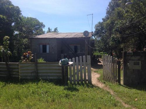 Casa Escriturada No Jd Das Palmeiras - Itanhaém 2545   Npc