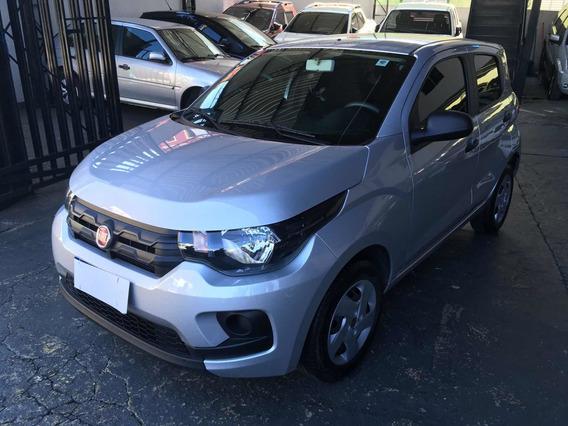 Fiat Mobi Like 1.0 Flex 2019 Prata Completo