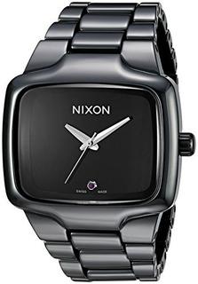 Reloj De Cerámica Nixon A145001 Ceramic Player Analógico Cua