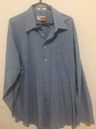Camisa Azul, Mangas Largas , Size 36