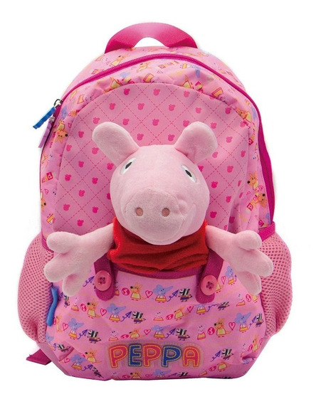 Mochila Espalda Peppa Pig 12 Jardin - Sharif Express 037