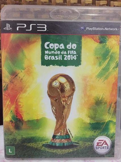 Jogo Para Ps3 - Fifa Copa Do Mundo Brasil 2014
