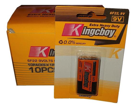 Pila Bateria 9v Kingcboy 0,00% Mercurio 6f22 9 Volts