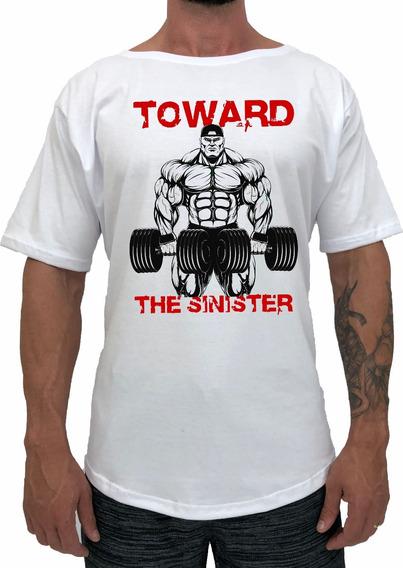Camiseta Morcegão Masculina Ovulada Longline Swag Morcego